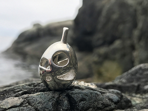 Fenrir Prospect - Pendant - Orphic Eggs in Polished Silver