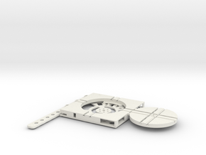 T-65-wagon-turntable-48d-75-plus-base-flat-1a in White Natural Versatile Plastic