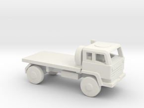 1/200 Scale M1080 Flat Bed Truck in White Natural Versatile Plastic