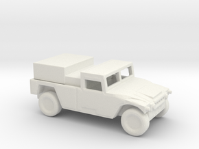 1/200 Scale HUMVEE Generator in White Natural Versatile Plastic
