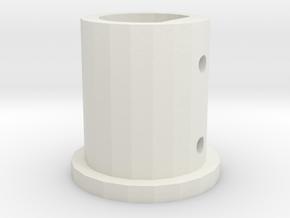 CM-12-H  in White Natural Versatile Plastic
