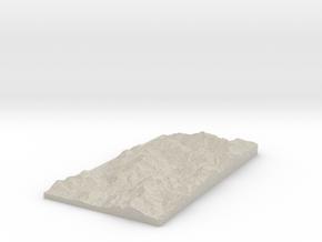 Model of Nava in Natural Sandstone