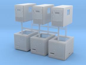 1/64th Mercury Sleeper Builders Pack 3 of each in Smooth Fine Detail Plastic