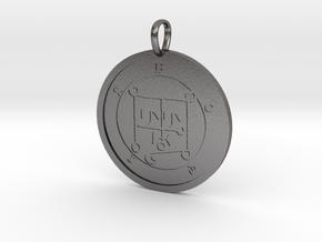 Botis Medallion in Polished Nickel Steel