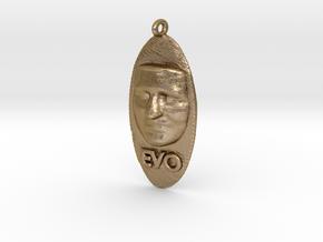 Cosmiton N Evo Morales III in Polished Gold Steel