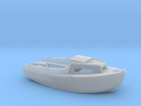 HObat01 - Small boat in Smooth Fine Detail Plastic