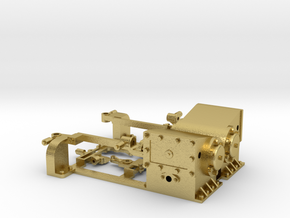 MMW-4806-4 Fowler cylinders ver 1 in Natural Brass