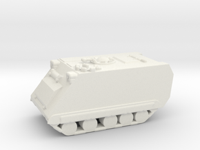 1/200 Scale M113A1 in White Natural Versatile Plastic
