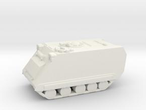 1/200 Scale M113A1 in White Natural Versatile Plastic