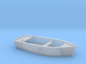 HObat41 - Wooden smallboat in Smoothest Fine Detail Plastic