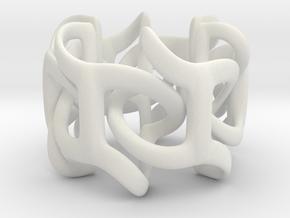 Kali Pedistal - 10cm in White Natural Versatile Plastic