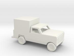 1/200 Scale Dodge Pickup Box M883 in White Natural Versatile Plastic