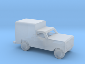 1/200 Scale Dodge Pickup Coverd M880 in Smooth Fine Detail Plastic