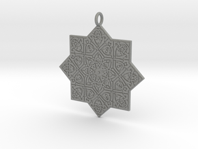 Celtic Knot pendant in Gray PA12