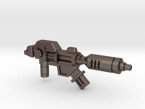 Wreck-Gar's Decelerator Laser (3mm, 5mm) in Polished Bronzed-Silver Steel: Medium
