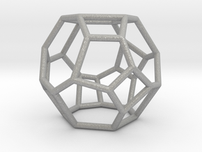 """Irregular"" polyhedron no. 4 in Aluminum: Small"