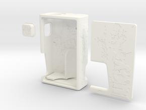 JUICY SQUONKER (V1.7 18650)  in White Processed Versatile Plastic