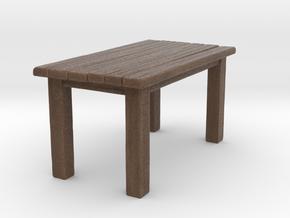 Table in Natural Full Color Sandstone