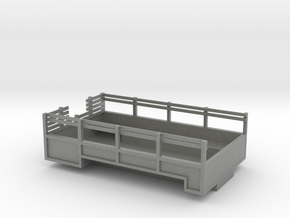 1/87 Scale M135 Truck Bed in Gray PA12