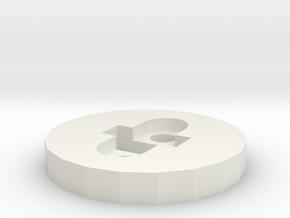 CM-13-H  in White Natural Versatile Plastic