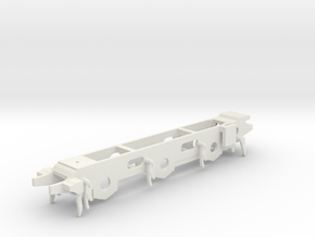 3mm - LB&SCR E2 Chassis - 12mm Gauge in White Natural Versatile Plastic