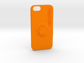 iPhone 5S & SE Wahoo Mount Case - Centre in Orange Processed Versatile Plastic