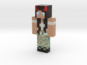 Ms_AmazingBlack | Minecraft toy in Natural Full Color Sandstone