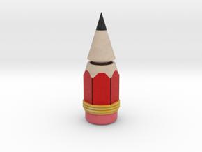 Pencil Penholder in Natural Full Color Sandstone