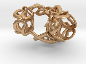 Triple Bubble - 26mm (1+in.) in Natural Bronze