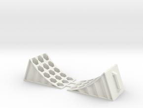Chock blocks in White Natural Versatile Plastic