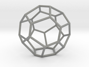 Fullerene with 17 faces, no. 2 in Gray Professional Plastic