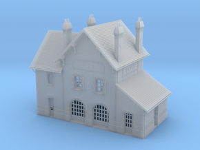 NBay03 - Bayet's traveler building in Smooth Fine Detail Plastic