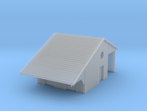 ZBay06b - Warehouse, hall in Smooth Fine Detail Plastic