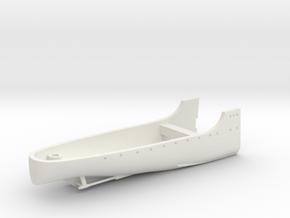 1/350 HMS Harrier Full Hull Stern in White Natural Versatile Plastic