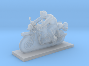 Biker - V7 in Smooth Fine Detail Plastic