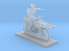 Biker - V5 in Smooth Fine Detail Plastic