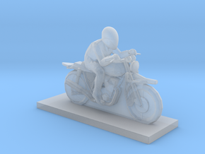 Biker - V2 in Smooth Fine Detail Plastic
