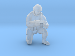 Soldier-sq-3 in Smooth Fine Detail Plastic