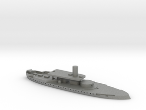 1/1250 HMS Rupert (1872) Gaming Model in Gray PA12
