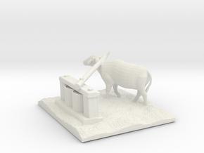 Village Buffalo Grinder in White Natural Versatile Plastic