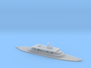 1/1250 Cerberus-class (1868/1870) Gaming Model in Smooth Fine Detail Plastic