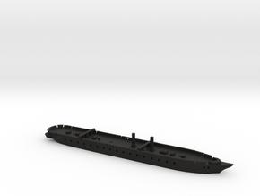 1/1250 Warrior-class (1860/1861) Gaming Models in Black Natural Versatile Plastic