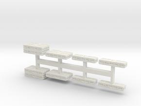 1 to 285 MLRS pod set in White Natural Versatile Plastic