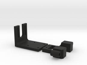 1:6 RC ELECTRONIC MOUNTS in Black Natural Versatile Plastic