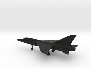 Dassault Mirage F2 in Black Natural Versatile Plastic: 1:200