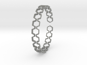 Honeyfull Bracelet 65mm in Gray PA12