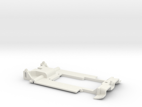 Carrera Universal 132 Nissan R89 R90 Chassis in White Natural Versatile Plastic