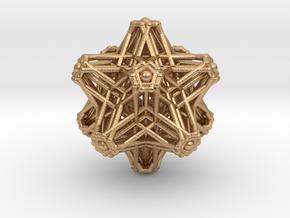 Hedron stars Nest in Natural Bronze