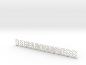 Wrist_band_I_am_brave_1 in White Natural Versatile Plastic