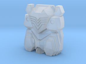 Cybertron Soundwave Face (PotP / Titans Return) in Smooth Fine Detail Plastic: Medium